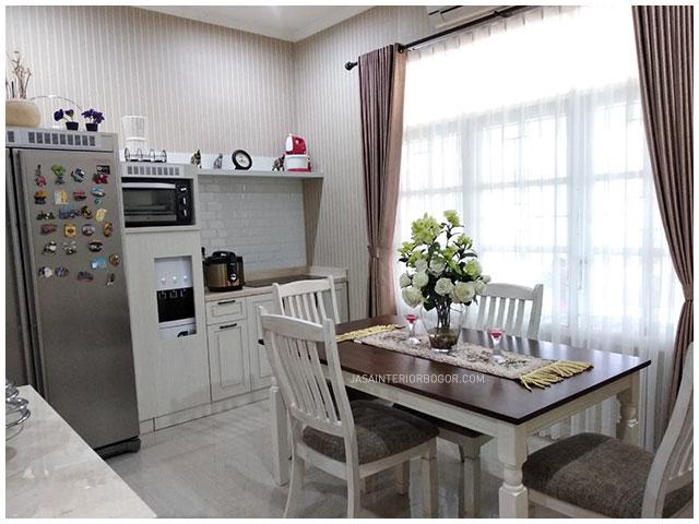 01 interior jatiwarna residence - interior dining pantry - jasa interior bogor - jasa kontraktor interior rumah tinggal