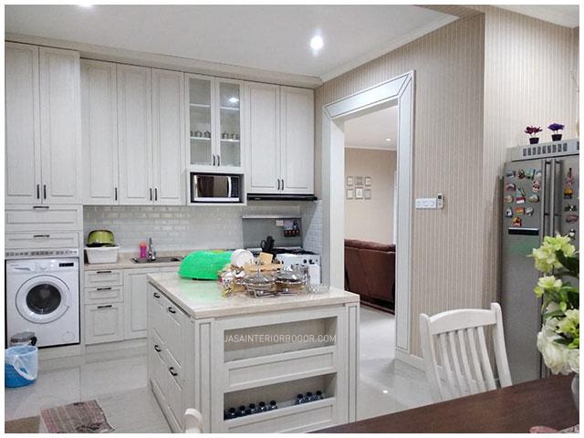 02 interior jatiwarna residence - interior dining pantry - jasa interior bogor - jasa kontraktor interior rumah tinggal