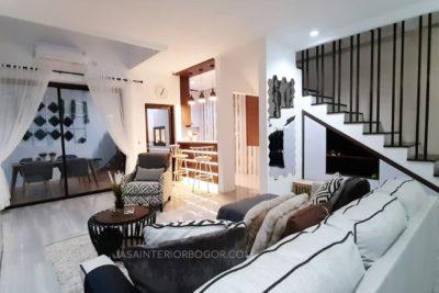 03 jatiwarna residence pondok gede - jasa interior bogor - kontraktor interior rumah tinggal jakarta bogor depok tangerang bekasi - living room