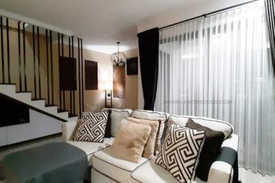 04 jatiwarna residence pondok gede - jasa interior bogor - kontraktor interior rumah tinggal jakarta bogor depok tangerang bekasi - sofa ruang tamu