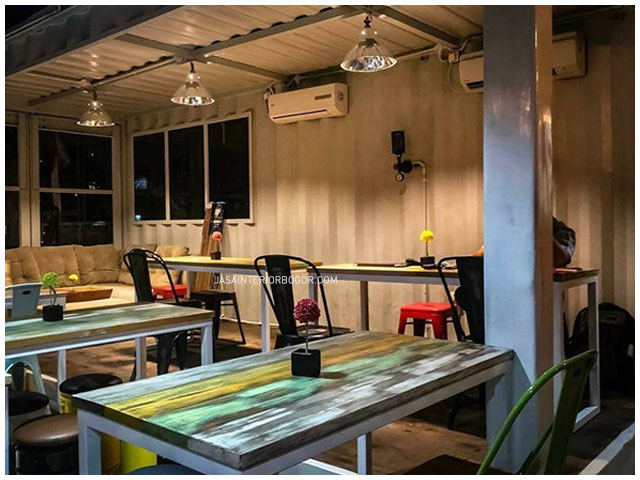 05 Burger Brothers Kemang Pratama - jasa interior bogor - kontraktor interior cafe restoran