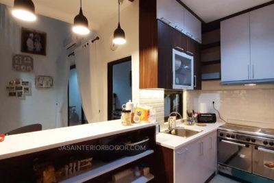 05 jatiwarna residence pondok gede - jasa interior bogor - kontraktor interior rumah tinggal jakarta bogor depok tangerang bekasi - kitchen set
