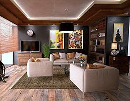5 Cara Membuat Rumah Terlihat Lebih Menarik - rak buku - jasa interior bogor