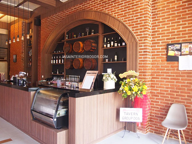 Cafe The Broadwalk Tavern BSD - jasa kontraktor interior bogor 02