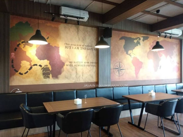 Cafe The Broadwalk Tavern BSD - jasa kontraktor interior bogor 06