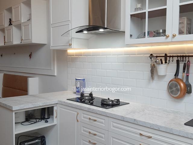 kitchen set duco grand cimandala residence 03 - jasa interior bogor - jasa kontraktor interior bogor