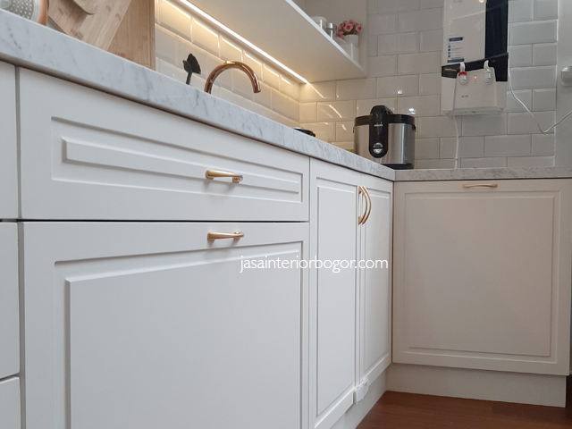 kitchen set duco grand cimandala residence - jasa interior bogor - jasa kontraktor interior bogor